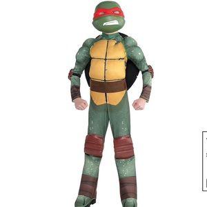 Raphael Muscle Costume Teenage Mutant Ninja Turtle